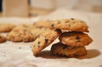 Choc cookies