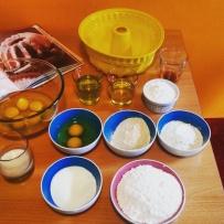 Ingredienti torta