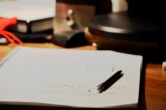 Penna e quaderno